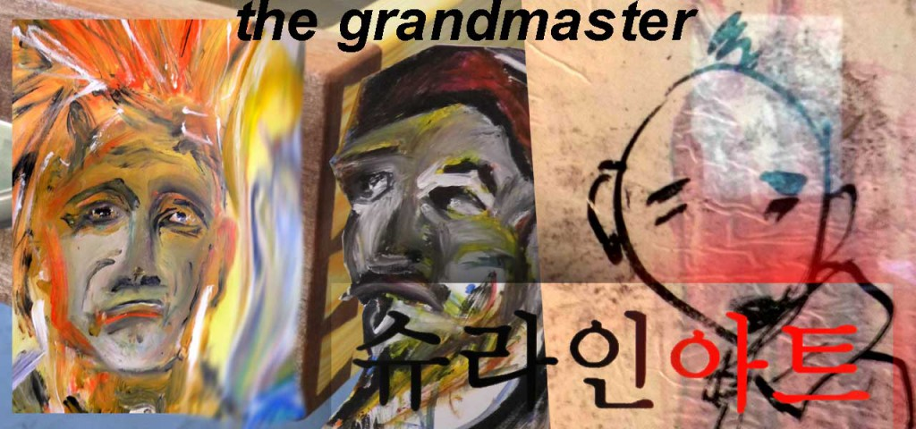 The Grandmaster exhibition by shrineart