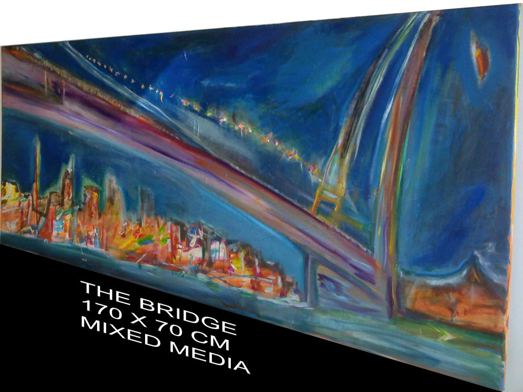 Bridge detail of a painting